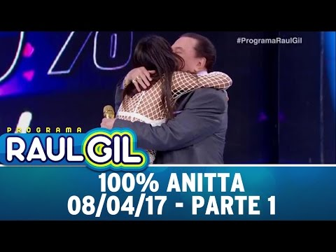 100% Anitta - Parte 1 | Programa Raul Gil (08/04/17)