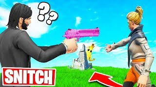 SNITCH OR DIE! *NEW* Hide & Seek Gamemode (Fortnite Creative)