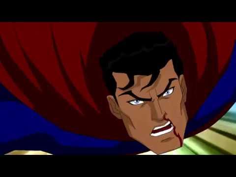 Супермен и Супергёрл против Дарксайда ч 1