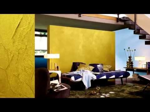 Wandfarben effekt lasur