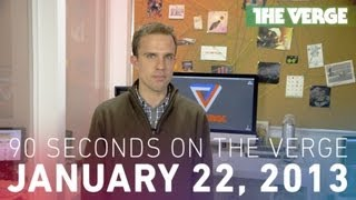 Surface Pro, 500px, and more - 90 Seconds on The Verge_ Tuesday, January 22, 2013