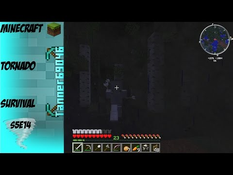Minecraft Tornado Survival (Localized Weather Mod) S5E14: Sucked in