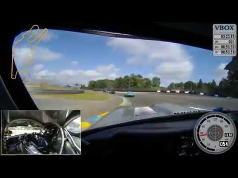 Le Mans Classic 2016 - on board Jaguar E-Type battle for lead