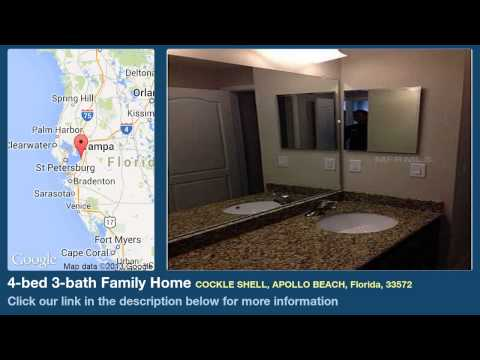 4-bed 3-bath Family Home for Sale in Apollo Beach, Florida on florida-magic.com