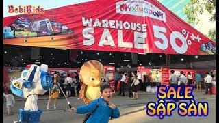 5 Ngày Vàng, Sale Sập Sàn - My Kingdom Warehouse Sale 2018 - Hồ Chí Minh  #BobiKidsChannel