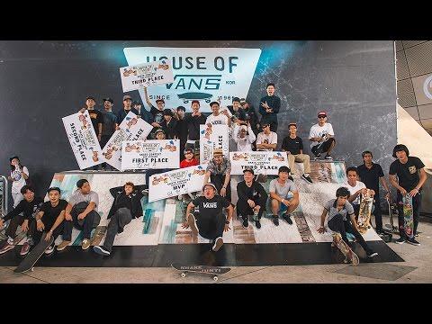 HOUSE OF VANS SEOUL SKATE OPEN 2015