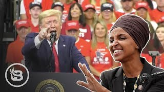"Trump GOES OFF on Ilhan Omar: ""America-Hating Socialist"""
