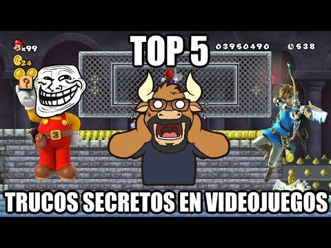Top 5 Trucos Secretos y Glitches en Videojuegos Parte 9 - Retro Toro
