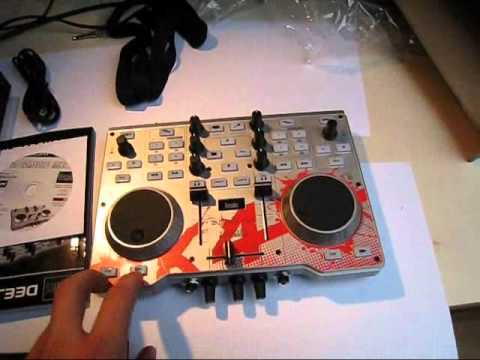 Unboxing+Test&Check der Hercules DJ Console MK4