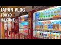 JAPAN VLOG #1: Tokyo & Hakone
