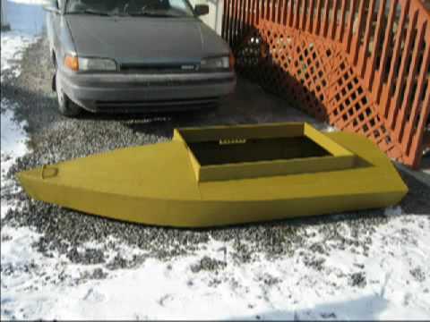 Boat Layouts Plans Layout Boat Hybride 5hp Minn