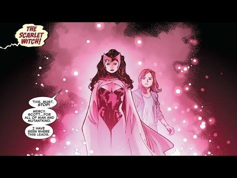 Scarlet witch vision wedding