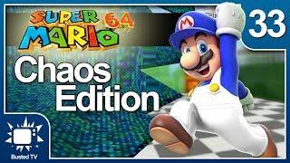 Chaos Mario 64 E33 - Saving Your Game The Hard Way: Busted TV