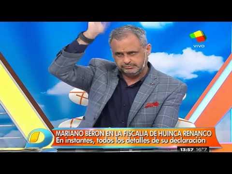 Confirman imputación y procesamiento de Mariano Berón