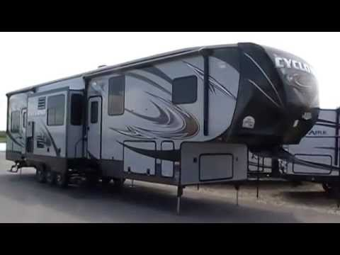 2014 Cyclone 4000 New Toyhauler, Olds RV Inc, Sundre, Carstairs, Red Deer