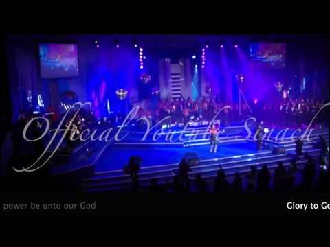 Sinach- Glory To God Lyrics video