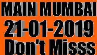 Main Mumbai 21/01/2019 SUPAR STRONG FIX JODI TRICK ||By Malamal kalyan trick