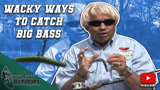 Fishing a Wacky Worm