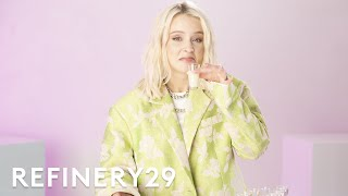 Zara Larsson Spills Who's In Her DMs While Drinking Disgusting Shots | Sip & Spill | Refinery29
