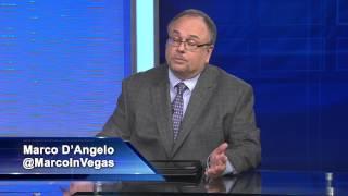 50,000 Golden Nugget Football Showdown Update : Marco DAngelo vs Bryan Leonard