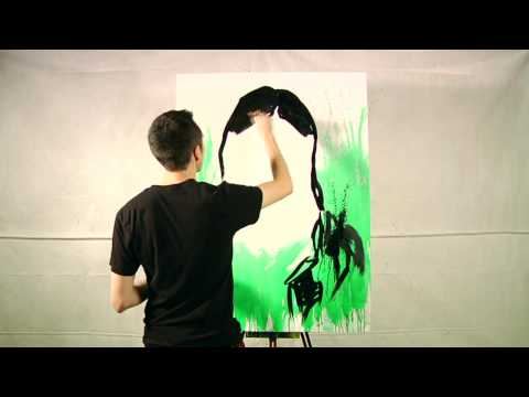 The Dead Weather - Jack Lawrence Painting -