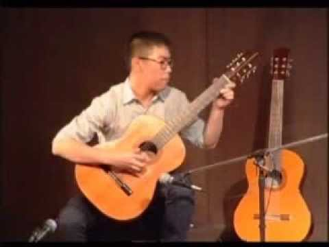 Chao Vongdasak Composition For Classical Guitar BANGKOK THONG LOR Played By His Student