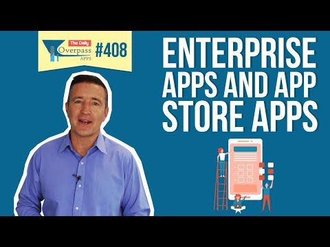 Enterprise Apps and App Store Apps