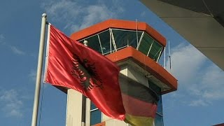 Albanian migrants return home after asylum applications are rejected by Germany