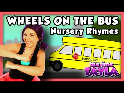 THE WHEELS ON THE BUS ~ Tea Time with Tayla, Episode 43!