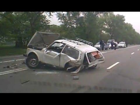 Подборка жестких аварий Первая неделя Мая