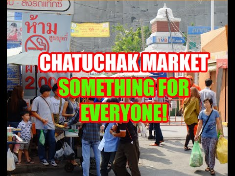 Chatuchak Market – Something New and Exciting Every Time