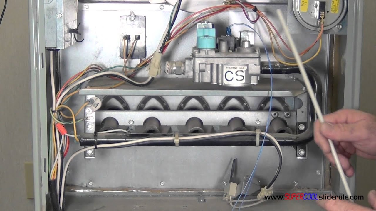 how to change gas furnace