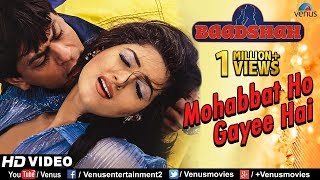 Mohabbat Ho Gayee Hai HD VIDEO  Shahrukh Khan  Twi