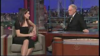 Sandra Bullock - Letteman - 8 February 2010 - Part 1