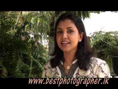 dilhani asokamala speaks about indika mallawarachchi [professional photographer]