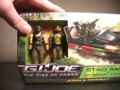 GI Joe the rise of cobra Sting Raider review