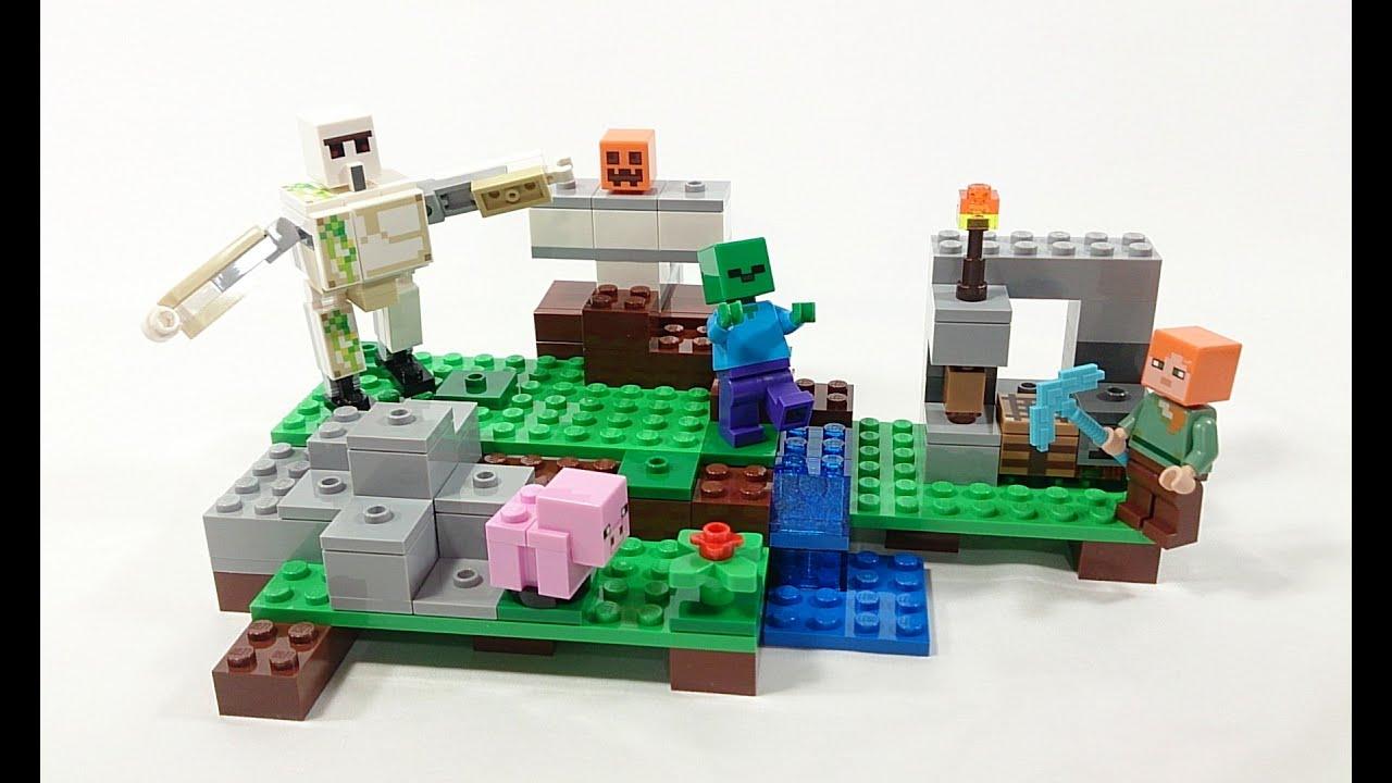 Lego Minecraft привет из детства с привкусом майнкрафта 47