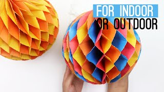 DIY Paper Crafting idea and Party decoration