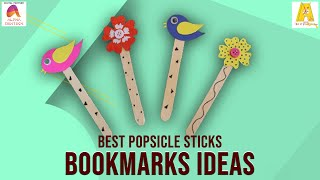 Popsicle Bookmarks | Do It Yourself | DIY