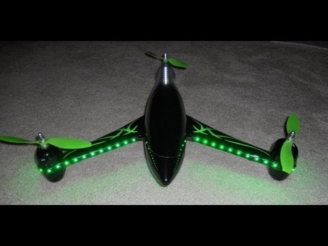 Y3 Fiberglass Tricopter from HobbyKing