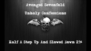 Avenged Sevenfold - Unholy confessions -25% Speed Drop D#