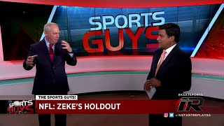THE SPORTS GUYS: Cowboys/Texans comparisons, Zeke's holdout & more!
