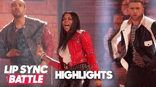 "Taraji P. Henson's ""Beat It"" Highlights 