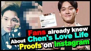 EXO Chen's girlfriend - EXO fans knew about their love story & all the proofs on Instagram