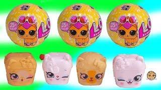 LOL Surprise Pets + Shopkins Season 9 Blind Bag Animal Pods - Cookie Swirl Video