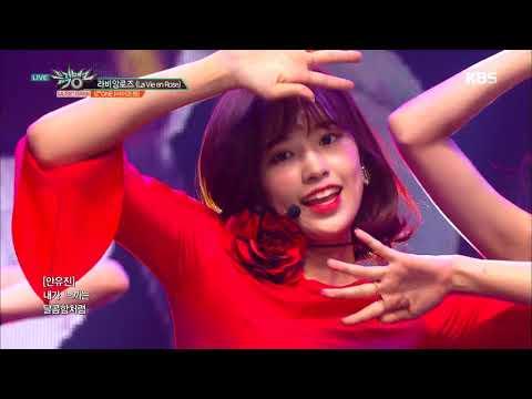 뮤직뱅크  Bank - 라비앙로즈La Vie en Rose - IZ*ONE 아이즈원20181123