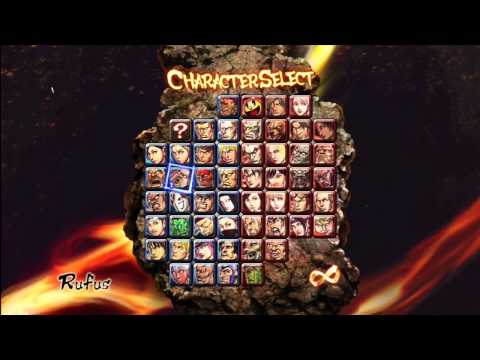 Street Fighter x Tekken: All 52 Characters Unlocked (HD)