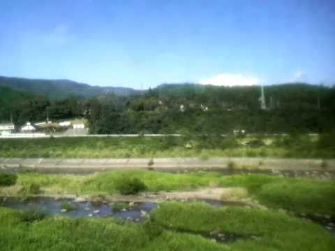 陸羽東線キハ110系鳴子温泉→岩出山左側車窓