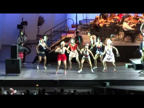 Brian Setzer Big Band with Dancers Dirty Boogie, Hollywood Bowl 9/14/2012