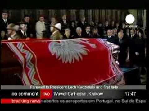 Last Goodbye to Lech Kaczyński-Wawel, Krakow